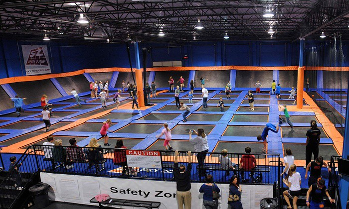 Sky Zone Indoor Trampoline Park Groupon Deals Access