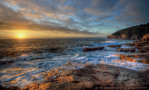 sunrise maine atlanticocean acadianationalpark d700 tomlussierphotography