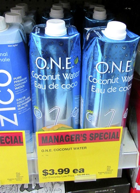 The O.N.E. Coconut Water Product Review