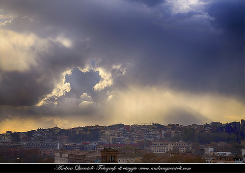 Clouds on Rome by andrea quercioli