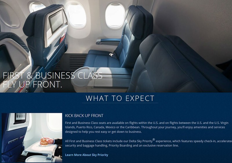 Delta Air Lines First Class With The Dead Cincinnati And
