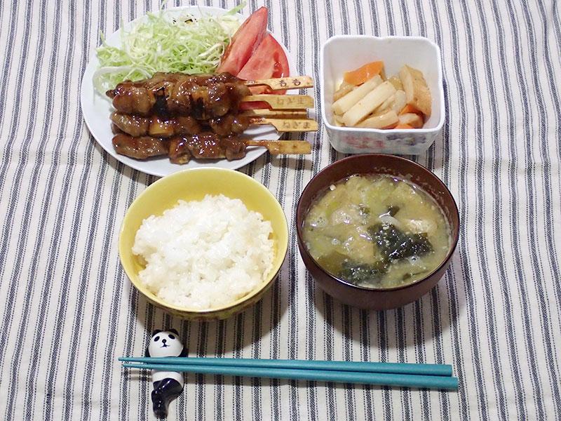 2015年1月13日の晩ご飯