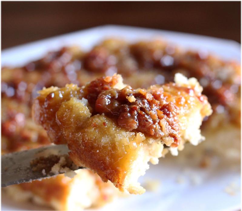 Maple-Pancetta Biscuit Bake