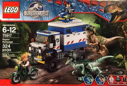LEGO Jurassic World 75917 Box