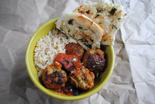 Indian Turkey Meatballs
