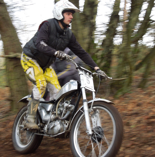 Talmag Trophy Trial (motorcycle), Hants, Jan 2015