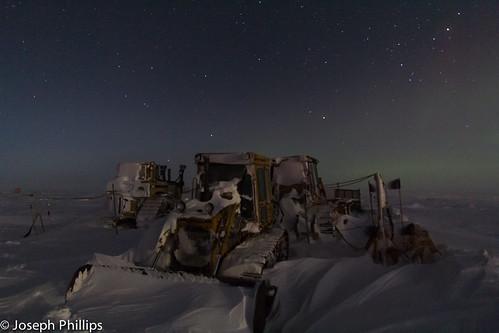 South Pole Parking Lot