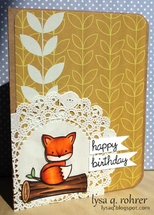 Birthday foxy