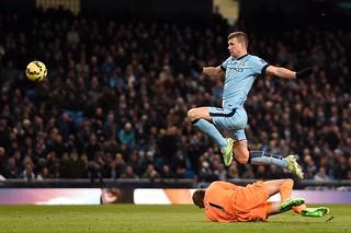 City v Newcastle: Match shots
