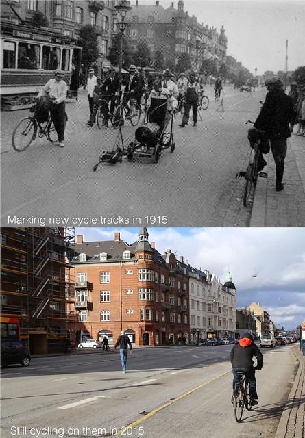Copenhagen Cycle Tracks - Strandvej 1915-2015