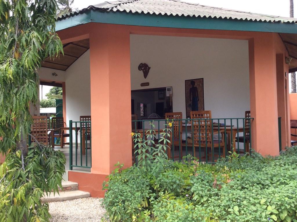 Farakunku dining area  Gambia