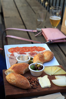 Meat Plate and Cheese Plate from The Trappist