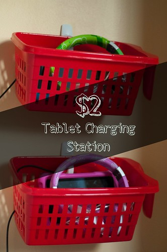 Dollar Store Tablet Charging Station