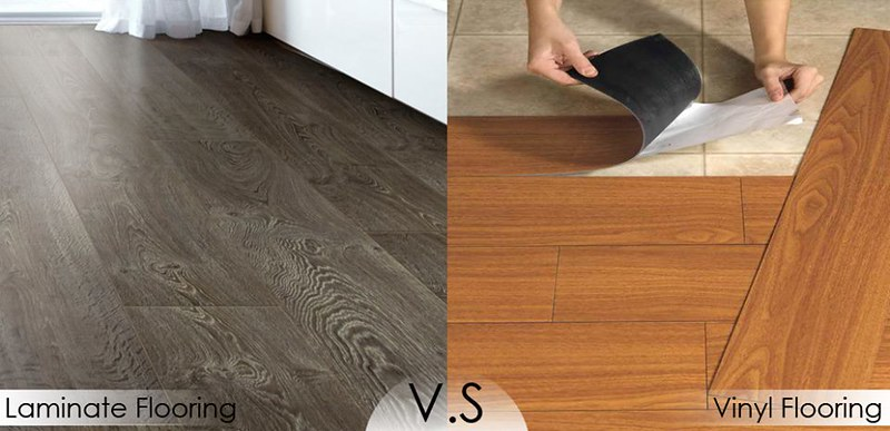 How To Choose Between Laminate Vinyl Flooring