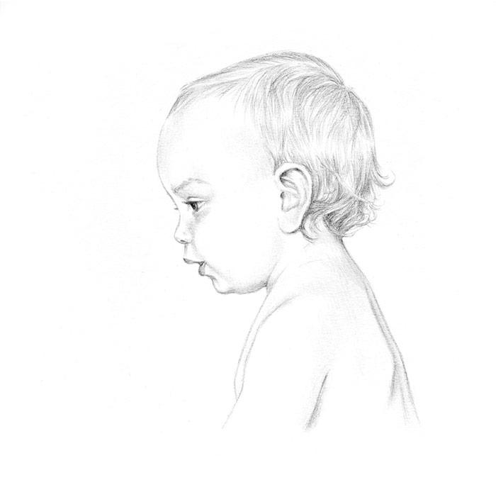Portrait of Baby John
