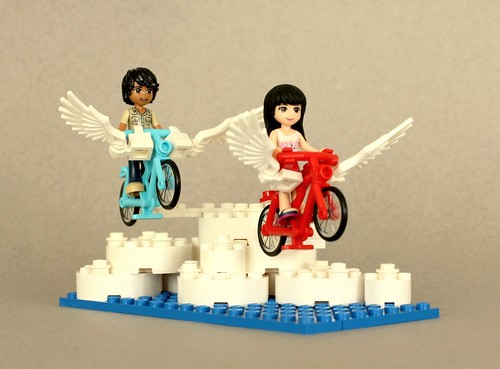 Fly-cycle Race