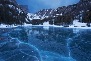 Early Morning Blue Hour at Dream Lake