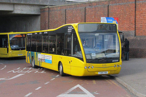 VC28 T28TYB Optare V1100 / Optare Versa