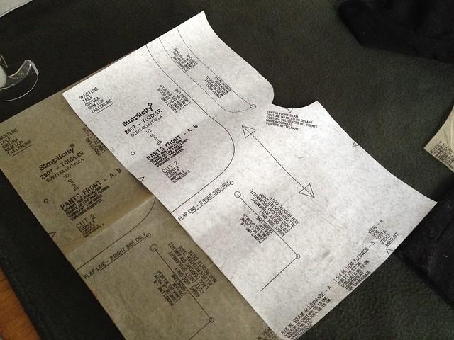 pattern adjustments via photocopier