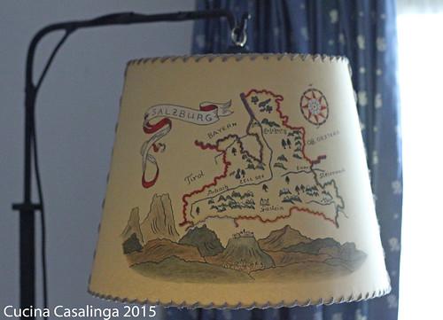 Goldener Hirsch Lampenschirm