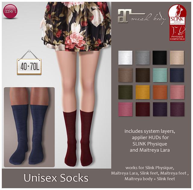 TDRF (Unisex Socks)
