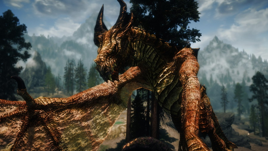 Elemental Dragons at Skyrim Nexus - mods and community