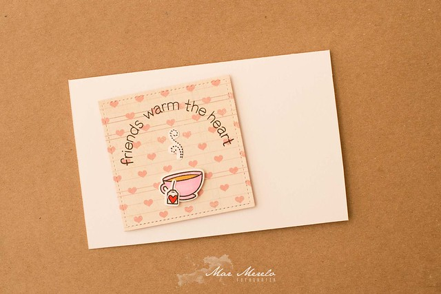Friends warm the heart card + 1