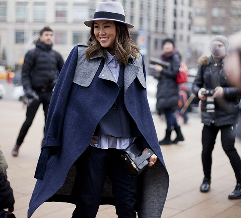 aimee_song_trench_coat_hat