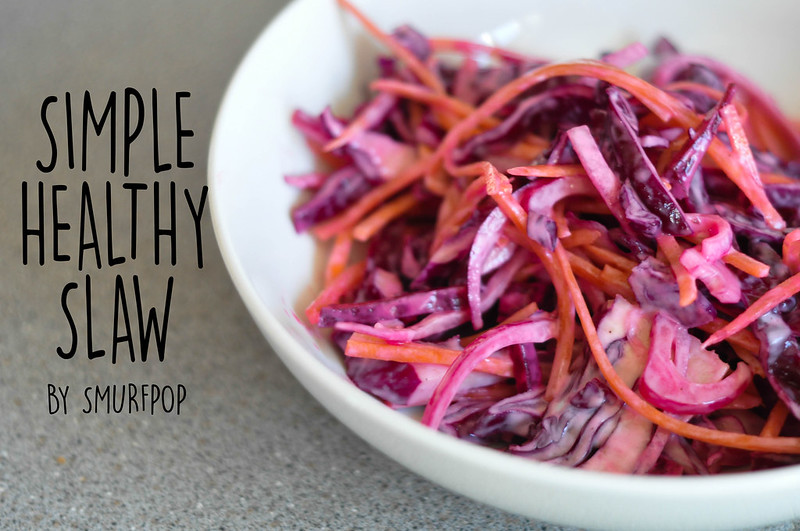 simple healthy slaw text