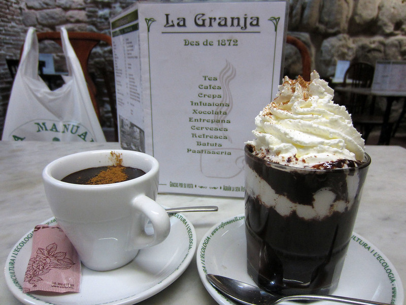 La Granja morning tea
