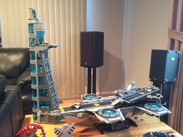 Stark Tower Lego Lego Avengers Tower V3.0 by