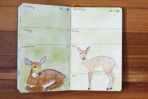 Sketchbook Journal 2015 - Week 3