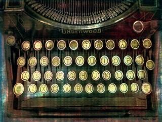 Vintage Underwood Typwriter