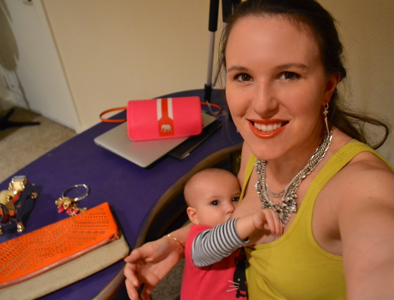 Miss Jena Apgar with Stella and Dot jewelry
