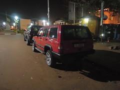 Gernots Jeep vom letzten Jahr taucht auch wieder auf…