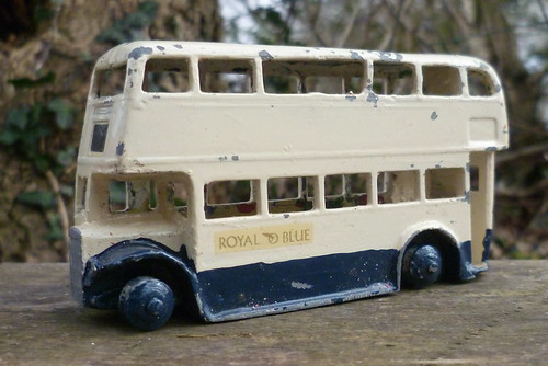 The Royal Blue fleet (10): Dinky 290 Leyland double decker; every fleet should have one