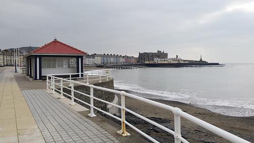 North shelter, Aberystwyth promenade