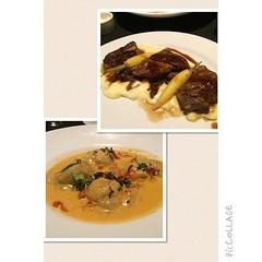 #Local #dungenesscrab #ravioli and #braisedshortribs #foodporn #yum #shareslo #wheresgregg