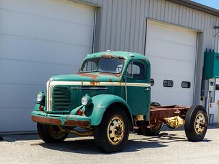Rusty Old REO Speed Wagon