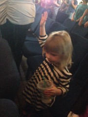 My granddaughter: Little worshipper.