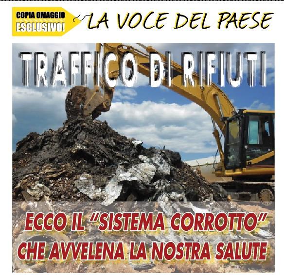 La copertina dell'inchiesta che pubblicammo nel 2012 in tutti i comuni del network e da cui partì l'indagine