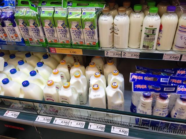 E-mart milk