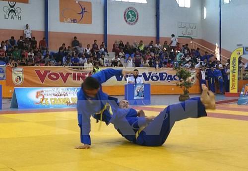 450 vận động viên quốc tế tham dự Vovinam thế giới tại Algeria