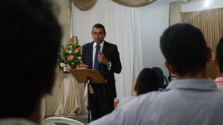 26/02/2016 - Pregação na Igreja Adventista do Novo Horizonte