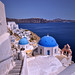 Cupolas and stairs in Oia. Santorini by Abariltur