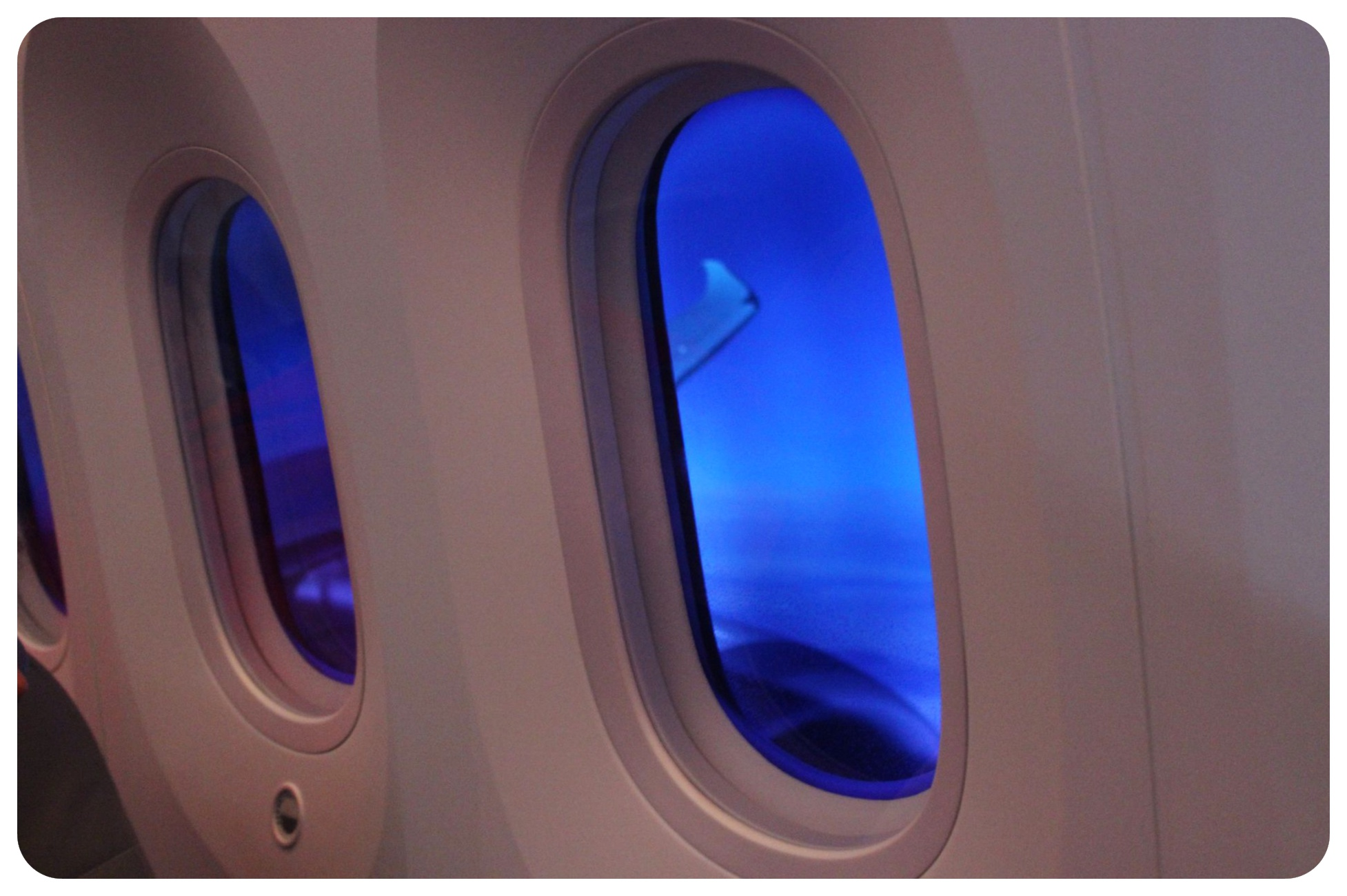 Norwegian Air windows