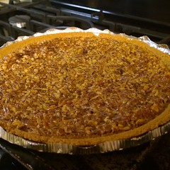 Mmmm pecan pie. #pie #yum #homemade