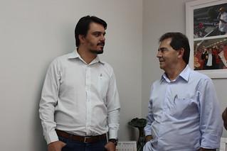 Direção do Solidariedade recebe presidente do PV de Avaré