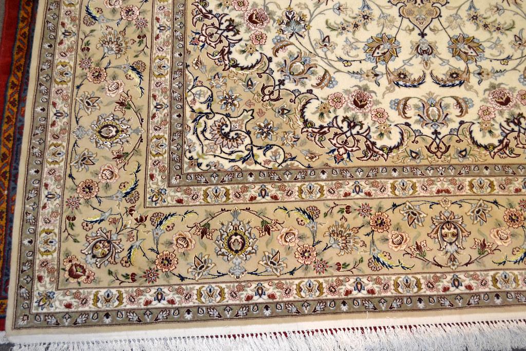 Fine Isfahan Esfahan Persian Area Rug 7x10 (2)