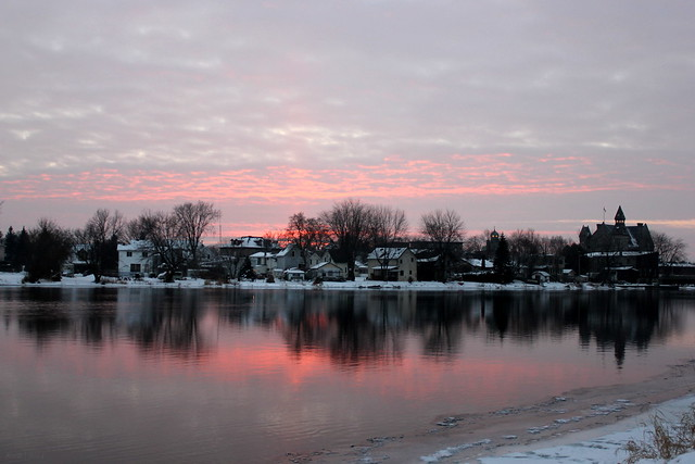 Almonte Winter Sunset